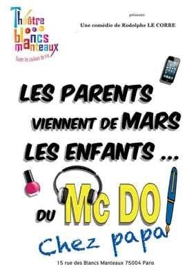 Les parents viennent de Mars les enfants du McDo ! chez papa