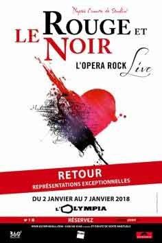 Le rouge et le Noir - L'opéra rock