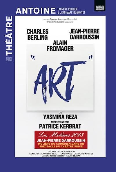 Art  avec Charles Berling et Jean-Pierre Darroussin