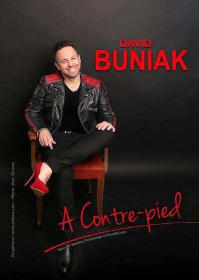 David Buniak à contre pieds