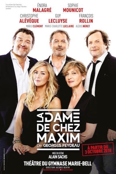La Dame de chez Maxim  avec Christophe Alévèque