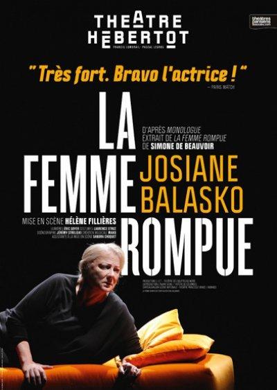 La femme rompue  avec Josiane Balasko