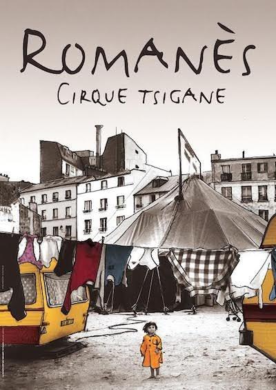 Romanès Cirque Tzigane dans La trapéziste des anges !